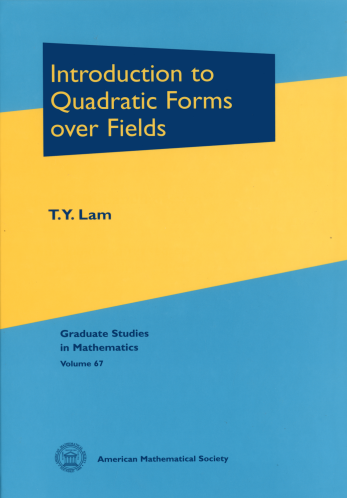 Introduction to Quadratic Forms over Fields cover image