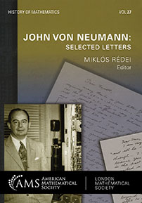 John von Neumann: Selected Letters cover image