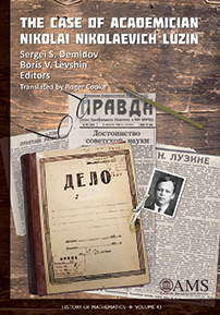 The Case of Academician Nikolai Nikolaevich Luzin cover image