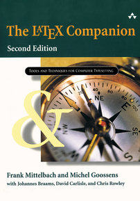The \LaTeX{} Companion, Second Edition: Tools and Techniques for Computer Typesetting cover image