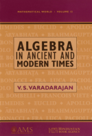 Algebra in Ancient and Modern Times