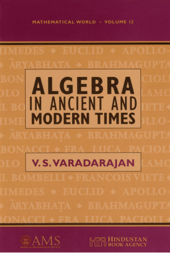 Algebra in Ancient and Modern Times cover image