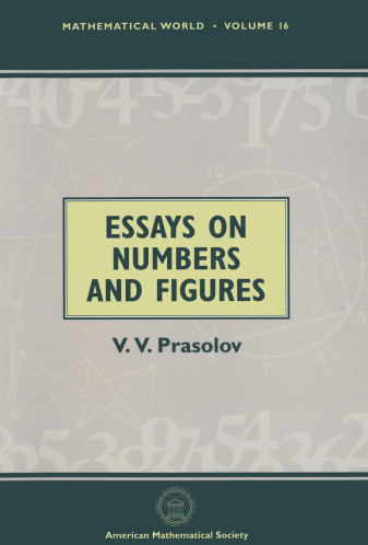 Essays on Numbers and Figures cover image