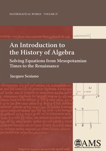 An Introduction to the History of Algebra: Solving Equations from Mesopotamian Times to the Renaissance cover image