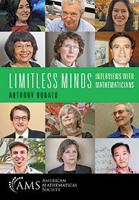 Limitless Minds: Interviews with Mathematicians cover image