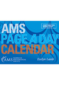 AMS Page a Day Calendar cover image