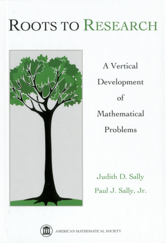 Roots to Research: A Vertical Development of Mathematical Problems cover image