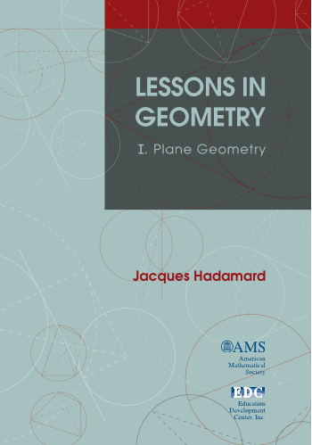 Lessons in Geometry: I. Plane Geometry cover image