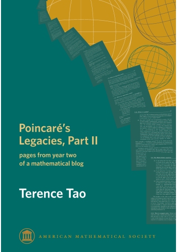 Poincare's Legacies, Part II: pages from year two of a mathematical blog cover image