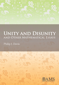 unity and disunity and other mathematical essays unity and disunity and other mathematical essays cover image