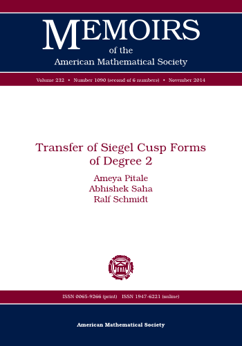 Transfer of Siegel Cusp Forms of Degree 2 cover image