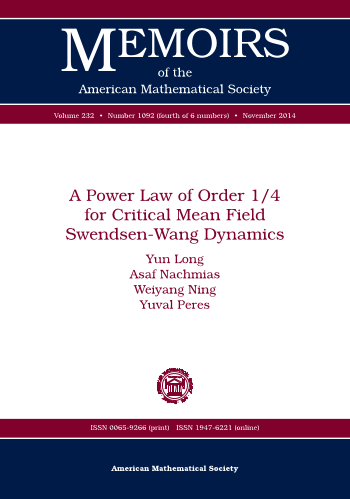 A Power Law of Order 1/4 for Critical Mean Field Swendsen-Wang Dynamics cover image
