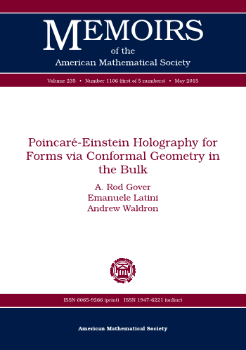 Poincare-Einstein Holography for Forms via Conformal Geometry in the Bulk cover image