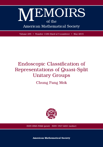 Endoscopic Classification of Representations of Quasi-Split Unitary Groups cover image