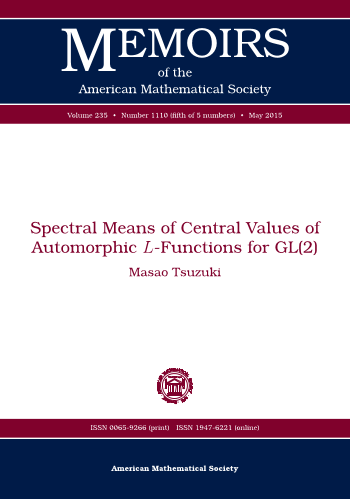 Spectral Means of Central Values of Automorphic $L$-Functions for GL(2) cover image