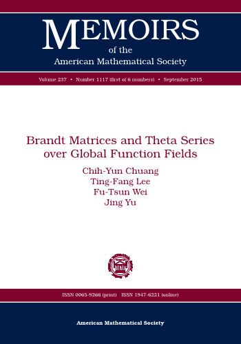 Brandt Matrices and Theta Series over Global Function Fields cover image