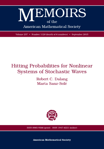 Hitting Probabilities for Nonlinear Systems of Stochastic Waves cover image