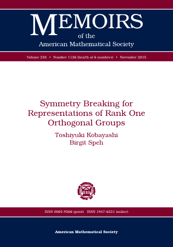 Symmetry Breaking for Representations of Rank One Orthogonal Groups cover image