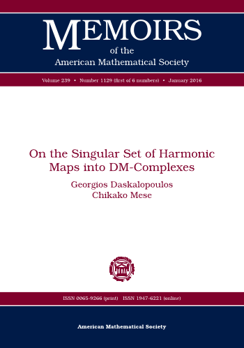 On the Singular Set of Harmonic Maps into DM-Complexes cover image