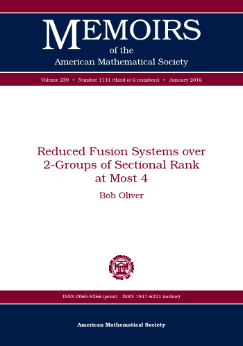 Reduced Fusion Systems over 2-Groups of Sectional Rank at Most 4 cover image