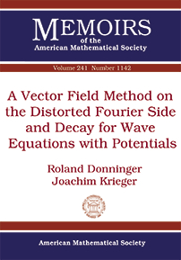 A Vector Field Method on the Distorted Fourier Side and Decay for Wave Equations with Potentials cover image