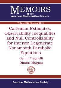Carleman Estimates, Observability Inequalities and Null Controllability for Interior Degenerate Nonsmooth Parabolic Equations cover image