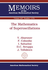 The Mathematics of Superoscillations cover image
