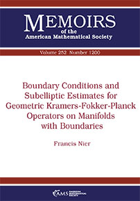 Boundary Conditions and Subelliptic Estimates for Geometric Kramers-Fokker-Planck Operators on Manifolds with Boundaries cover image