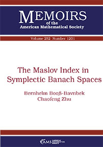 The Maslov Index in Symplectic Banach Spaces cover image