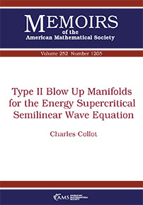 Type II Blow Up Manifolds for the Energy Supercritical Semilinear Wave Equation cover image