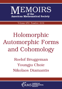 Holomorphic Automorphic Forms and Cohomology cover image