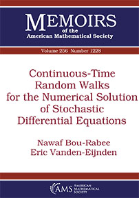 Continuous-Time Random Walks for the Numerical Solution of Stochastic Differential Equations cover image