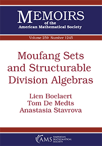 Moufang Sets and Structurable Division Algebras cover image