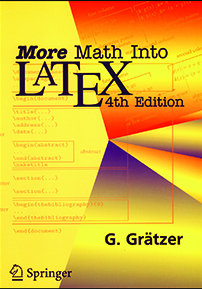 More Math into \LaTeX{}: 4th Edition cover image
