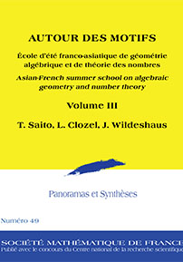 Autour des Motifs: Asian-French Summer School on Algebraic Geometry and Number Theory: Volume III cover image