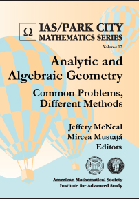 Analytic and Algebraic Geometry: Common Problems, Different Methods cover image
