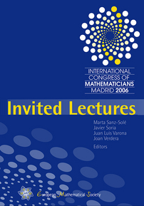Proceedings of the International Congress of Mathematicians, Madrid 2006 cover image