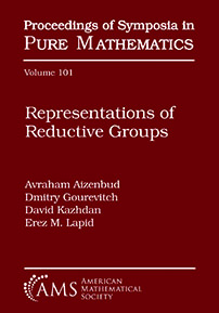 Representations of Reductive Groups cover image