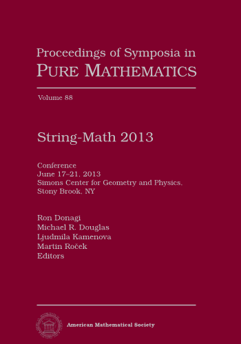 String-Math 2013 cover image