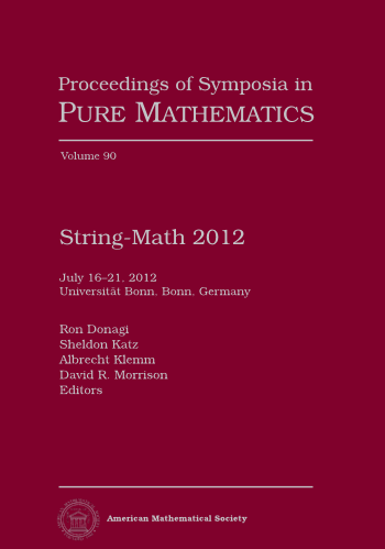 String-Math 2012 cover image