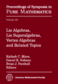 Lie Algebras, Lie Superalgebras, Vertex Algebras and Related Topics cover image