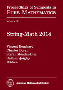 String-Math 2014 cover image