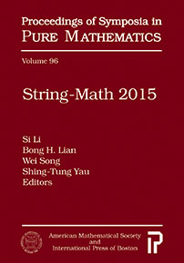 String-Math 2015 cover image