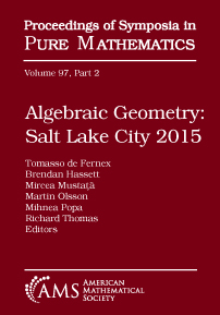 Algebraic Geometry: Salt Lake City 2015 cover image