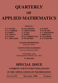Current and Future Challenges in the Applications of Mathematics cover image