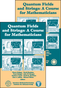 Quantum Fields and Strings: A Course for Mathematicians cover image