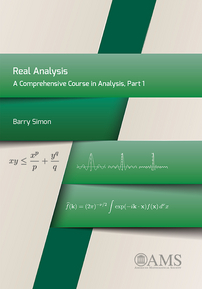 Real Analysis: A Comprehensive Course in Analysis, Part 1 cover image
