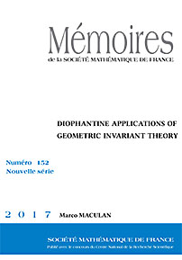 Diophantine Applications of Geometric Invariant Theory cover image