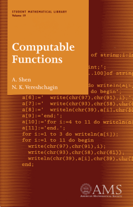Computable Functions cover image