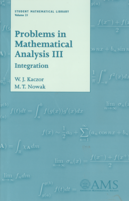Problems in Mathematical Analysis III: Integration cover image